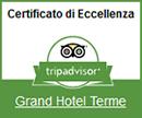 Certificato di Eccellenza 2014 Grand Hotel Terme
